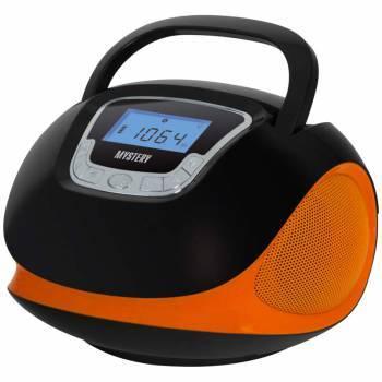 Магнитола Mystery BM-6002UB черный / оранжевый