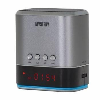 Магнитола Mystery MSP-127 серебристый