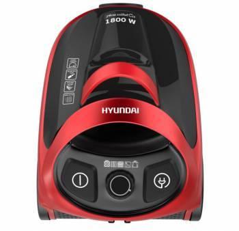 Пылесос Hyundai H-VCC01 красная медь / черный