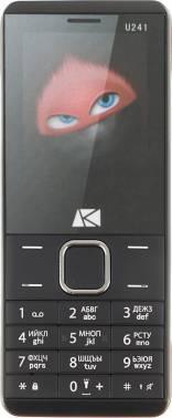 Мобильный телефон ARK U241 черный