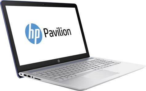 "Ноутбук 15.6"" HP Pavilion 15-cc526ur (2CT25EA) синий - фото 1"