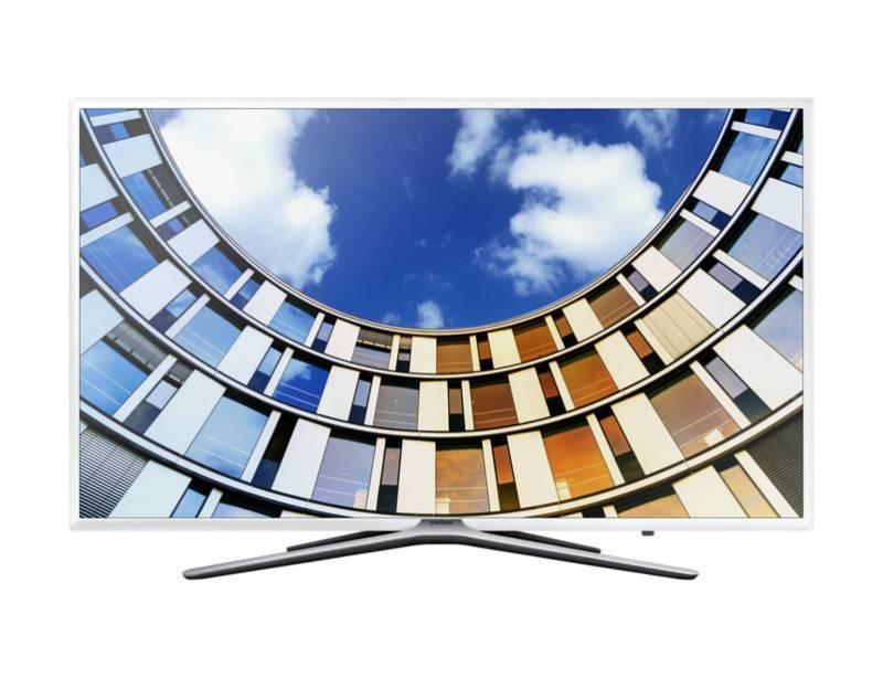 """Телевизор LED 55"""" Samsung UE55M5510AUXRU белый - фото 1"""
