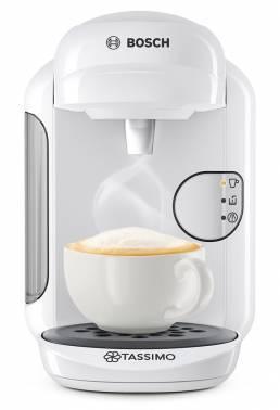 Кофемашина Bosch Tassimo TAS1404 белый, мощность 1300Вт, объем резервуара для воды 0.7л