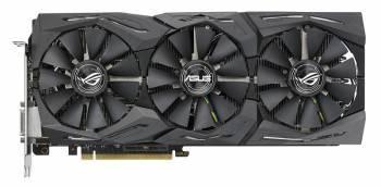 Видеокарта Asus GeForce GTX 1080TI 11264 МБ (ROG-STRIX-GTX1080TI-11G-GAMING)