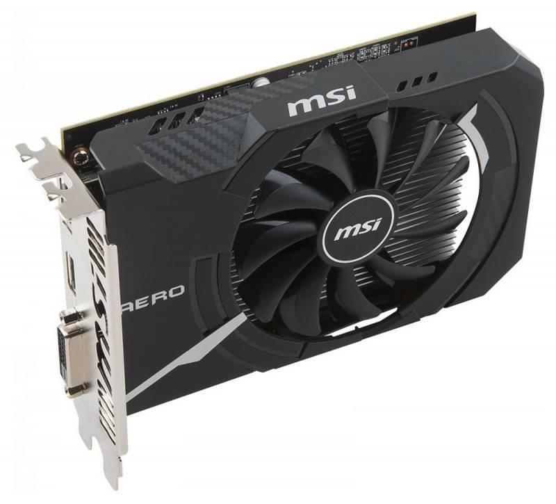 Видеокарта MSI RX 560 AERO ITX 4G OC 4096 МБ - фото 2
