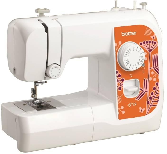 Швейная машина Brother E15 белый - фото 1