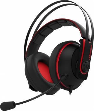 Наушники с микрофоном Asus Cerberus V2 красный / черный