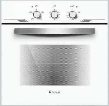 Духовой шкаф газовый Gefest ДГЭ 621-01 Б белый
