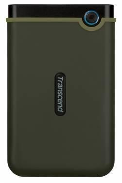 Внешний жесткий диск 1Tb Transcend TS1TSJ25M3E StoreJet 25M3 зеленый USB 3.0