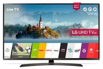 Телевизор LED 43 LG 43UJ634V черный / коричневый