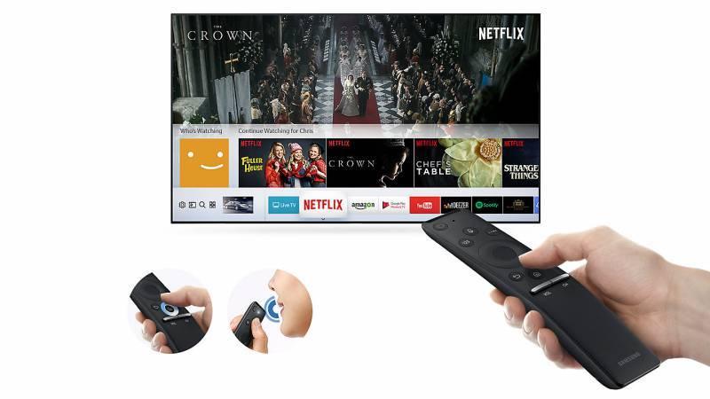 """Телевизор LED 75"""" Samsung UE75MU6100UXRU черный - фото 4"""