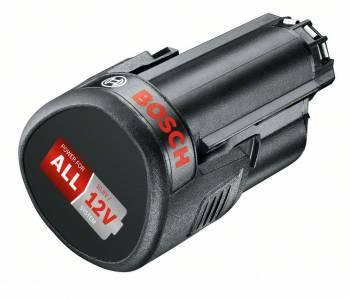 Батарея аккумуляторная Bosch PBA 12В 2.5Ач Li-Ion (1600A00H3D)