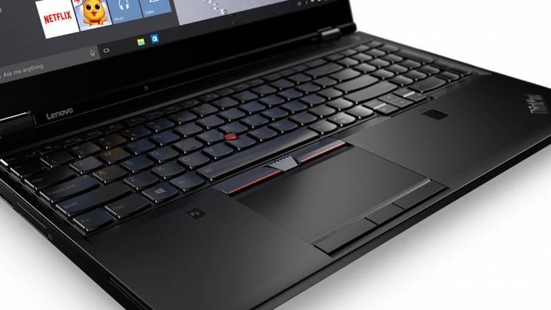 "Ноутбук 15.6"" Lenovo ThinkPad P51 черный (20HH001RRT) - фото 3"