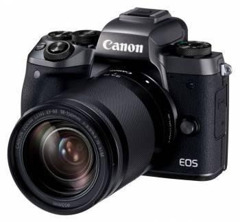 Фотоаппарат Canon EOS M5 kit черный