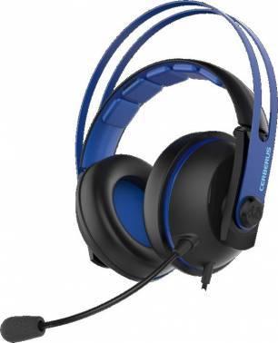 Наушники с микрофоном Asus Cerberus V2 синий / черный