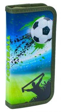 Пенал Silwerhof 850905 Футбол 1отд. 190х90х25мм ламин.карт.