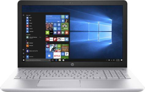 "Ноутбук 15.6"" HP Pavilion 15-cc504ur (1ZA96EA) серебристый - фото 1"