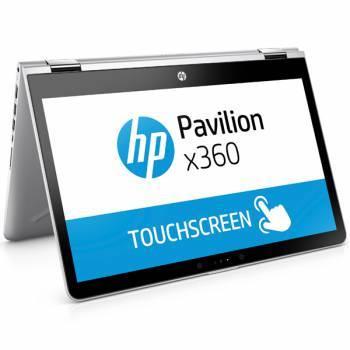 "Трансформер 14"" HP Pavilion x360 14-ba016ur серебристый (1ZC85EA)"