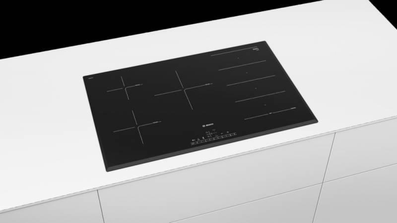 Варочная поверхность Bosch PXV851FC1E черный - фото 3