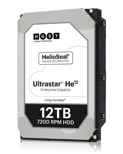 Жесткий диск 12Tb HGST Ultrastar HE12 HUH721212ALE604 SATA-III (0F30146) - фото 1
