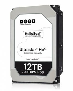 Жесткий диск 12Tb HGST Ultrastar HE12 HUH721212ALE604 SATA-III (0F30146)