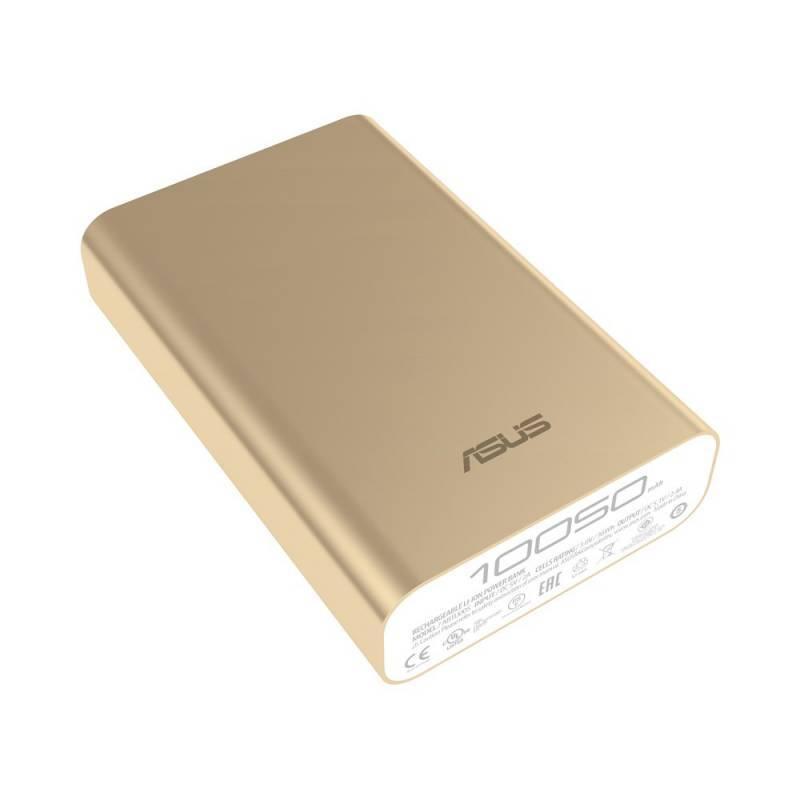 Мобильный аккумулятор ASUS ZenPower Duo ABTU011 золотистый - фото 3
