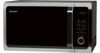 СВЧ-печь Sharp R-3852RK черный