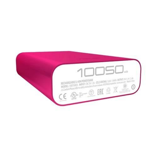 Мобильный аккумулятор ASUS ZenPower Duo ABTU011 розовый (90AC0180-BBT025) - фото 4