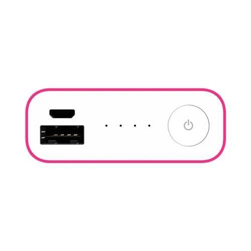 Мобильный аккумулятор ASUS ZenPower Duo ABTU011 розовый (90AC0180-BBT025) - фото 6