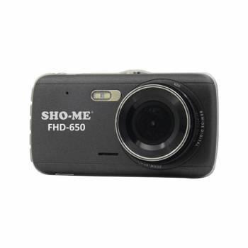 Видеорегистратор Sho-Me FHD-650 черный