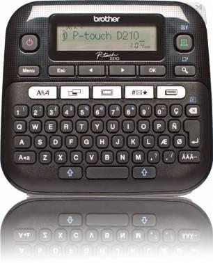 Принтер для печати наклеек Brother P-touch PT-D210VP черный (PTD210VPR1)