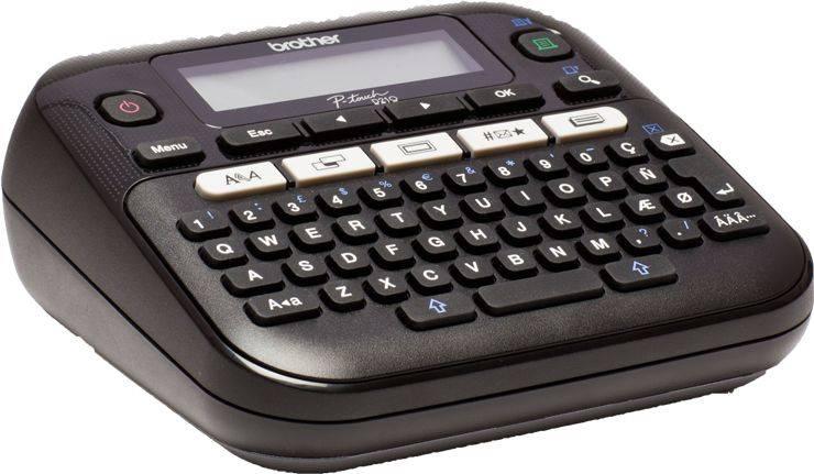 Принтер для печати наклеек Brother P-touch PT-D210VP черный (PTD210VPR1) - фото 2