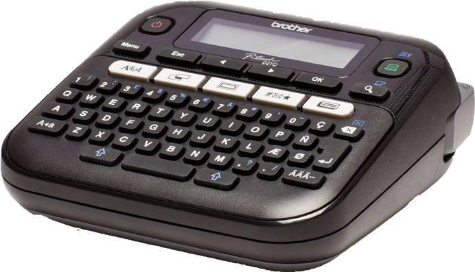 Принтер для печати наклеек Brother P-touch PT-D210VP черный (PTD210VPR1) - фото 3