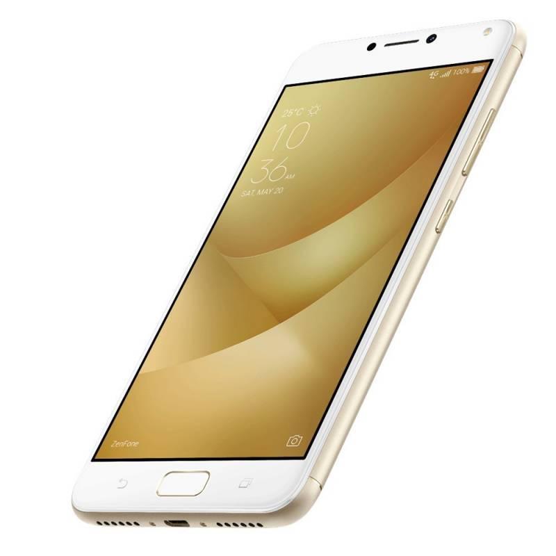 Смартфон Asus ZenFone Max ZF4 ZC554KL 16ГБ золотистый (90AX00I2-M00020) - фото 3