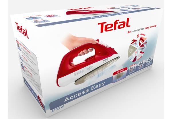 Утюг Tefal FV1543E0 красный/белый (1830006329) - фото 4