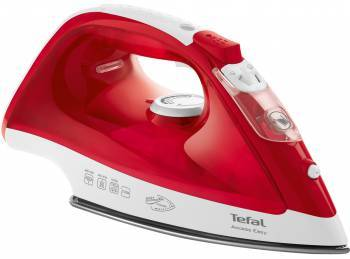Утюг Tefal FV1543E0 красный/белый (1830006329)