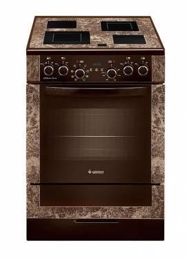 Плита электрическая Gefest ЭП Н Д 6560-03 0001 коричневый/мрамор, без крышки
