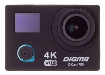 Экшн-камера Digma DiCam 700 черный (DC700)