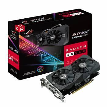 Видеокарта Asus Radeon RX 560 4096 МБ (ROG-STRIX-RX560-4G-GAMING)