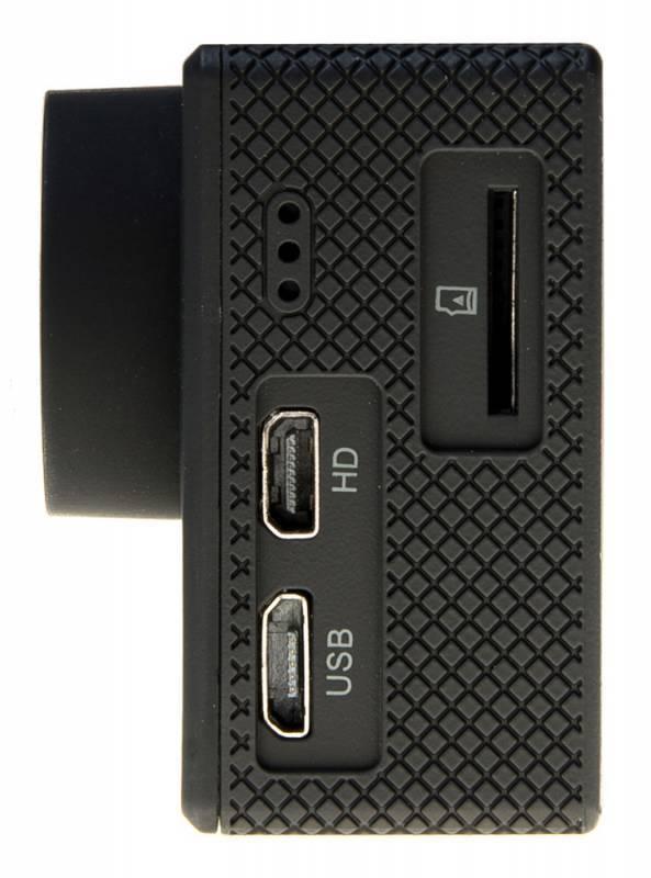 Экшн-камера Digma DiCam 72C черный (DC72C) - фото 3