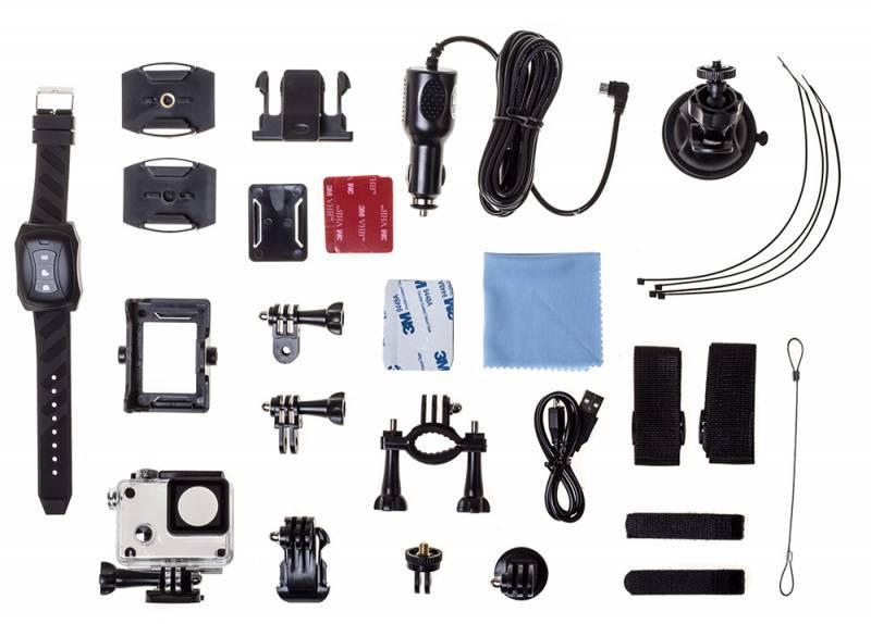Экшн-камера Digma DiCam 72C черный (DC72C) - фото 17