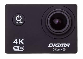 Экшн-камера Digma DiCam 400 черный (DC400)