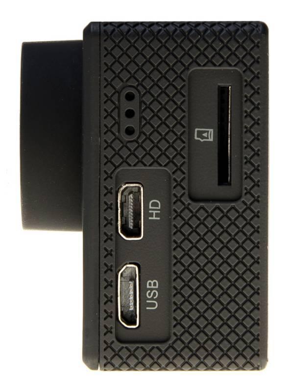 Экшн-камера Digma DiCam 200 черный - фото 3