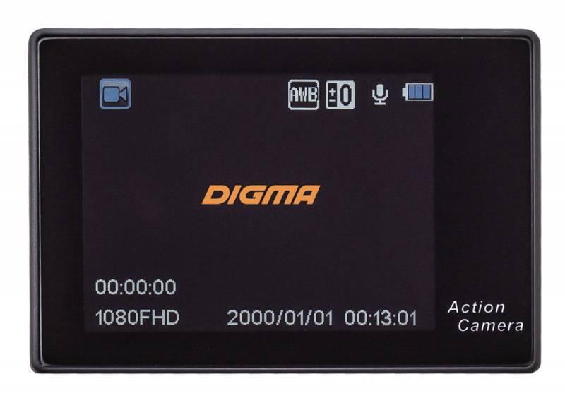 Экшн-камера Digma DiCam 200 черный - фото 11