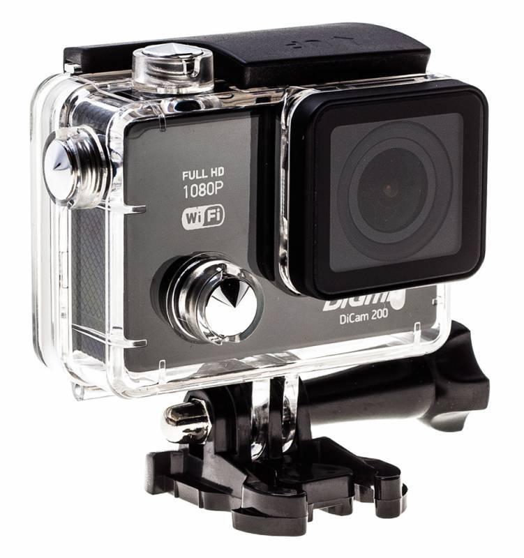 Экшн-камера Digma DiCam 200 черный - фото 15