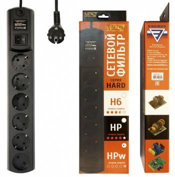 Сетевой фильтр Most HPw 5м черный (HPW 5М ЧЕР)