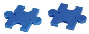 Смотка Hama Puzzle (00020565) черный / синий / красный