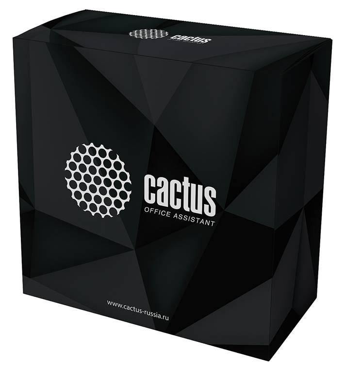 Пластик для принтера 3D Cactus CS-3D-PLA-750-BLACK PLA d1.75мм 0.75кг 1цв. - фото 1