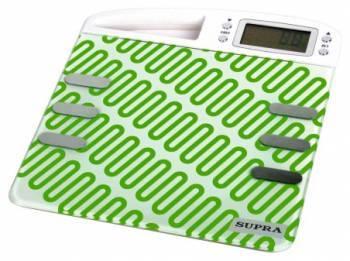 Весы напольные электронные Supra BSS-6200 зеленый