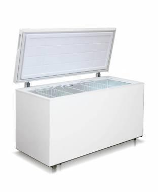 Морозильный ларь Бирюса Б-455VK белый